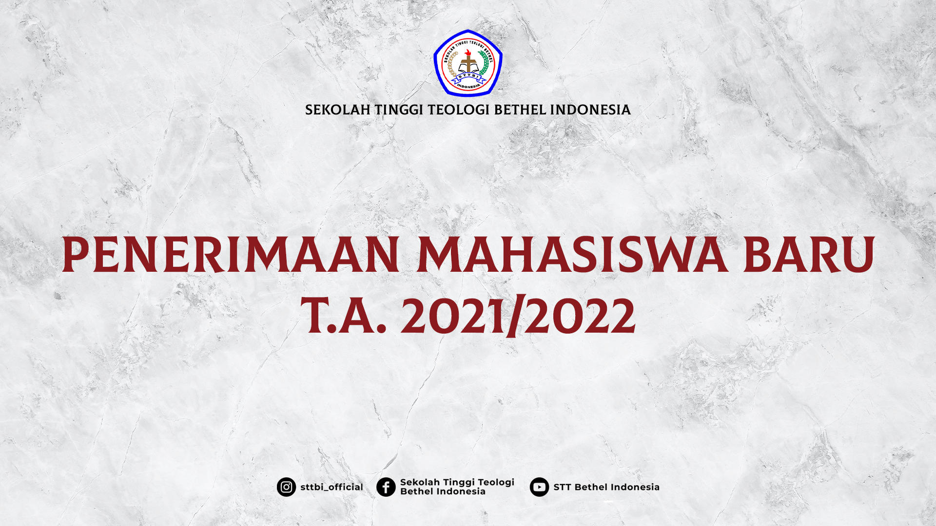 PENERIMAAN MAHASISWA BARU 2021/2022