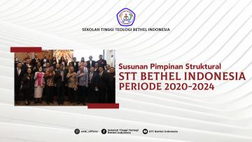 TIM PIMPINAN STTBI TAHUN 2020-2024